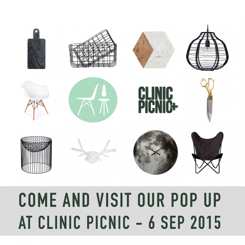 Pop up shop at Clinic Picnic