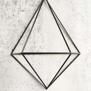 DIY wall planter Diamond (carbon)