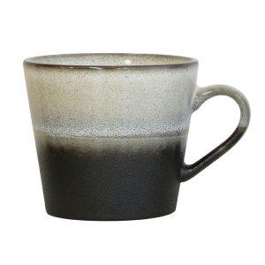 Keramieken 70's cappuccino mok: rok