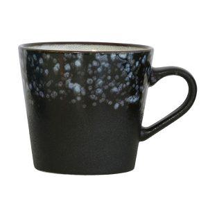 keramieken 70's cappucino mok: galaxy